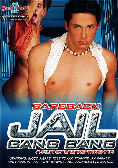 [Gay] Bareback Jail Gang Bang