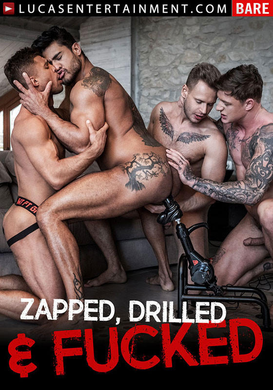 [Gay] Zapped, Drilled and Fucked